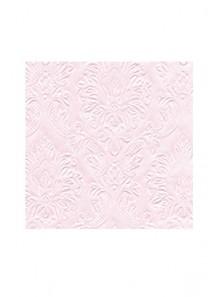 20 serviettes ORNEMENTS baroque ROSE