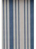 3M chemin de table TORCHON rayures bleu jeans