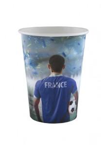 8 gobelets coupe du monde de football