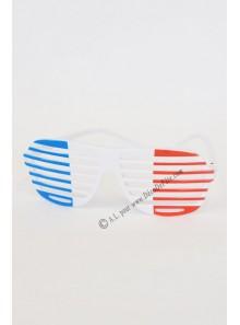 Lunettes tricolores