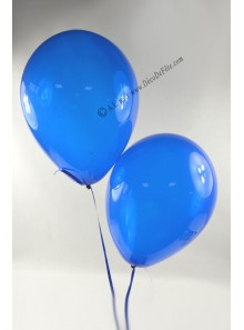 50 ballons bleu royal