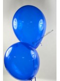 50 ballons bleu royal