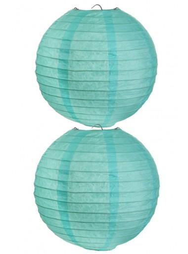 2 Lanternes AQUA 20 cm