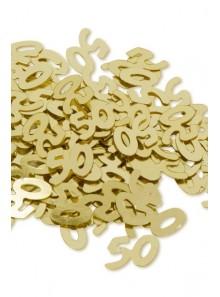 Confettis OR 50 ans
