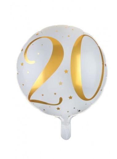 1 ballon âge 20 OR