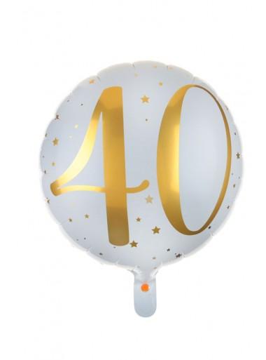 1 ballon âge 40 OR