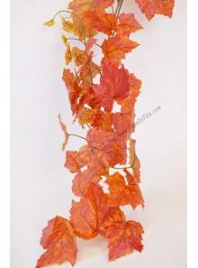 1 guirlande de vigne d'automne 1.80