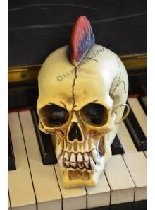 1 tête de mort PUNK