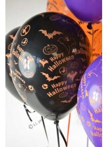6 ballons halloween
