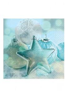 20 Serviettes étoiles des glaces