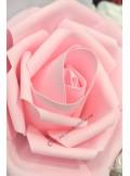 1 rose GEANTE sucre rose