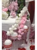 1 liane de rose sucre ROSE