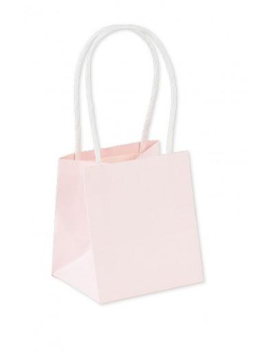 6 mini sac ROSE à anse 10cm
