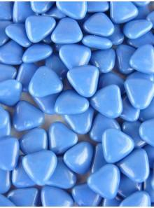 450gr Petits cœurs bleu océan