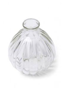 1 vase bouteille boule antoinette 10cm