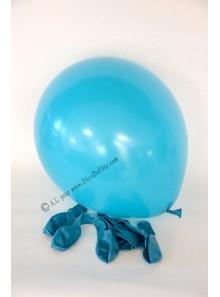 8 ballons turquoise biodégradables