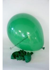 8 ballons vert sapin biodégradables