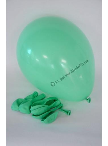 8 ballons vert d'eau biodégradables