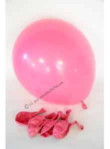 8 ballons fushia biodégradables