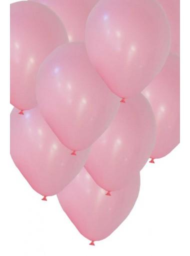 50 ballons rose biodégradables