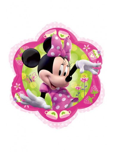 1 Ballon fleur Minnie