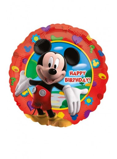 1 ballon HAPPY BIRTHDAY Mickey
