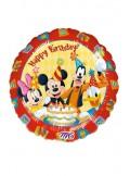 1 ballon HAPPY BIRTHDAY avec les amis de Mickey