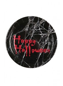 10 assiettes HAPPY HALLOWEEN