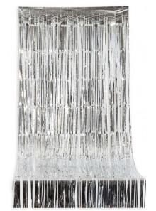1 rideau lamé ARGENT