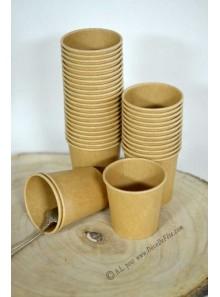 120 gobelets à café KRAFT 10cl