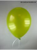 50 ballons vert anis nacré