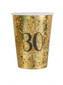 10 gobelets OR étincelles 30 ans