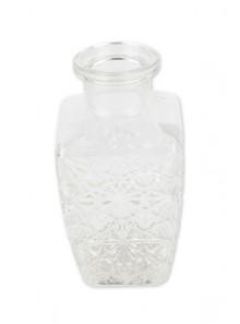 1 vase WHISKY carré 13cm