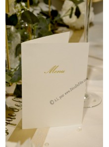 10 MENU classic ivoire et OR
