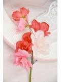 1 mini branche de cerisier rouge