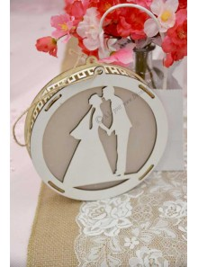 1 suspension mariage lumineuse