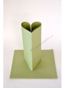 25 Serviettes jetables presto vert olive