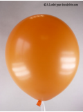 50 ballons orange biodégradables