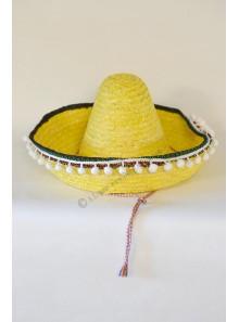 1 sombrero enfant jaune
