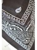 1 bandana noir cow-boy