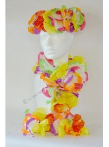 1 SET Hawaï multicolore