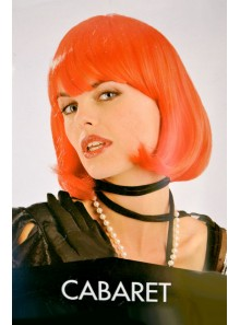 1 Perruque cabaret Orange