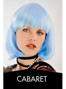1 Perruque cabaret bleue