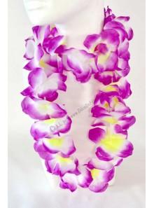 1 collier hawaï violet