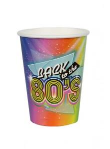 10 gobelets 80'S
