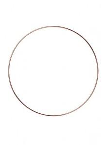 1 anneau attrape rêve 30cm ROSE GOLD