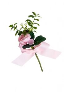 1 mini branche de renoncule rose