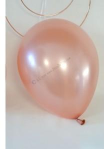 10 ballons métal ROSE GOLD