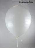 50 ballons blanc biodégradables
