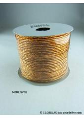 1 Tourbillon métal cuivre
